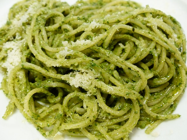 Tuna Spinach Pesto