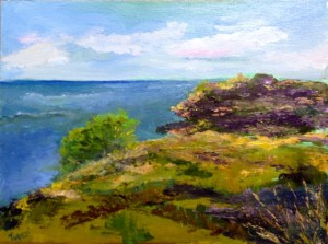 To the Sea, oil,